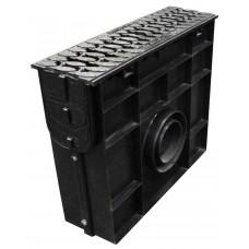 cерии standart plastik пескоуловитель dn 100 d400 в сборе с решеткой усиленной чугунной комплект