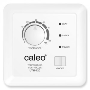 Терморегулятор CALEO UTH-120 встраиваемый аналоговый, 2 кВт