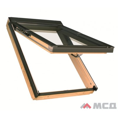 деревянное мансардное окно fakro preselect