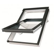 мансардное окно fakro из пвх с вентклапаном