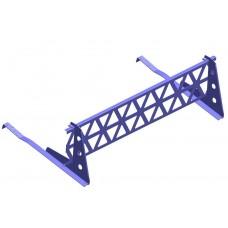 снегозадержатель с решеткой royal 2,5мкомплект: 1 решетка royal, 4 опоры royal