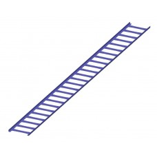 снегозадерживающая решетка цельнометаллическая 200*2500ммтолщина стали 2мм
