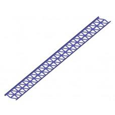 снегозадерживающая решетка royal цельнометаллическая 200*2500ммтолщина стали 2мм