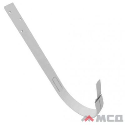 Крюк длинный металлический d-125мм белый RAL 9003 Grand Line