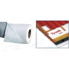 Мембрана кровельная гидроветрозащитная паропроницаемая TYVEK Soft 75кв.м рул 1,5х50м
