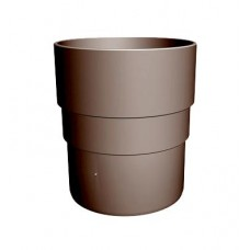 Муфта соединительная пластиковая коричневая Docke