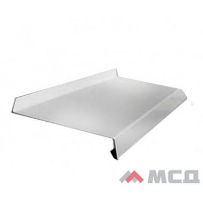 Водоотлив металлический белый 200х2000мм