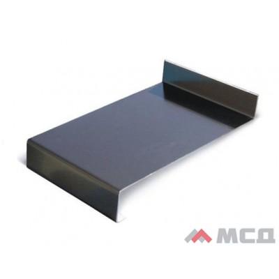 Водоотлив металлический коричневый 100х2000мм