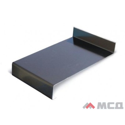 Водоотлив металлический коричневый 150х2000мм