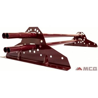 снегозадержатель трубчатый универсальный grandline 1.0м для металлочерепицы и мягкой кровли