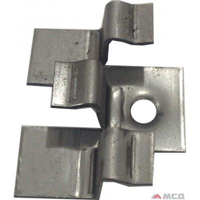 кляймер металлический универсальный для лаги из дпк
