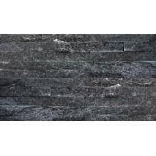камень-панель кристаллический сланец черный