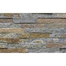 камень-панель кварцевый филлит серо-коричневый