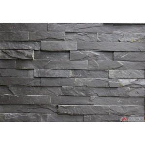 камень-панель сланец черный (шунгит)