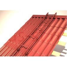 лестница кровельнаядля металлочерепицы и мягкой кровлидлина 2,1м