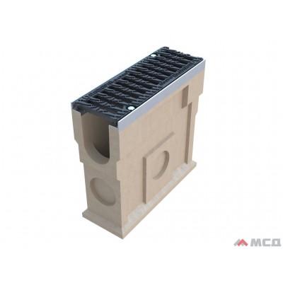 комплект: пескоуловитель compomax пу-11.19.50-п с реш водоовт. щель вч кл.е (к-т) 39,14 кг