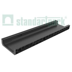 лоток водоотводный polymax basic лв-20.26.08-пп пластиковый 8510