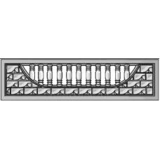 панель заборная серединка
