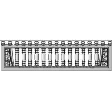 панель заборная верхушка