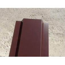 штакетник металлический 1500*133, двусторонний