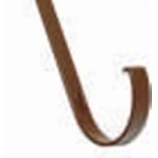 Кронштейн желоба металл. Plastmo D120 315мм коричневый