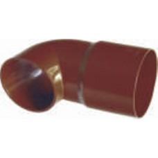 Наконечник трубы Plastmo D90 коричневый