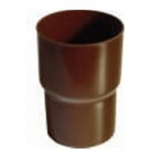Соединитель труб Plastmo D90 коричневый