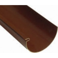 Желоб Plastmo D120 4 м коричневый