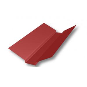 Накладка ендовы, Mat Pural 0.5 мм, по каталогу RAL